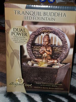 Tranquil Buddha LED Fountain for Sale in Austin, TX