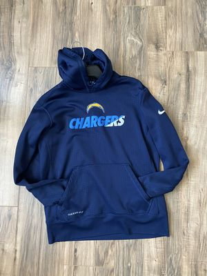 MENS MEDIUM CHARGERS NIKE THERMA FIT HOODIE for Sale in Westminster, CA