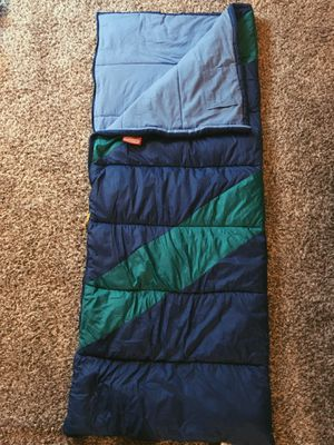 Blue/Green Coleman sleeping bag for Sale in Seattle, WA