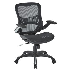 Black Mesh Seat and Back Managers Chair by Office Star Products. BRAND NEW! for Sale in Fort Lauderdale, FL