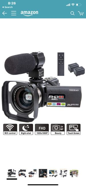 Video camcorder for Sale in Buena Park, CA