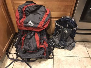 Gregory palisade hiking backpack hiking pack day pack iso for Sale in Phoenix, AZ