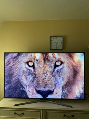 SAMSUNG 4K UHD 65INCH SMART TV EXCELLENT RESOLUTION 2160p AND HIGH DEFINITION COLORS for Sale in Phoenix, AZ