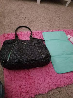 Carters dark blue diaper bag w/changing mat for Sale in Manassas, VA