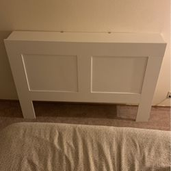 White Headboard - IKEA Brimnes with Storage for Sale in Seattle,  WA