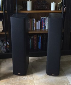 (2) Klipsch Tower Speakers with Grilles for Sale in Miami, FL