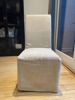 Hudson Parson Slipcovered Dinning Chair by RH for Sale in Washington, DC