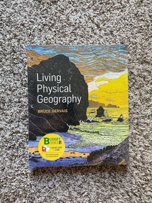 Livin bf Physical Geography Textbook for Sale in Baton Rouge, LA