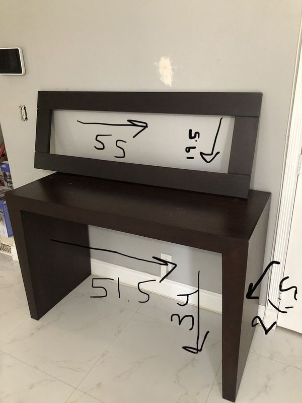 Sofa Table and glass/picture frame
