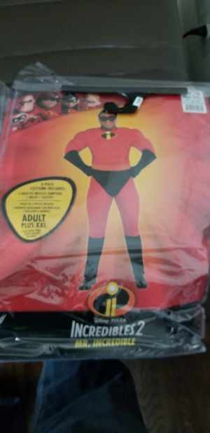 Adult Mr Incredible Costume for Sale in Catonsville, MD