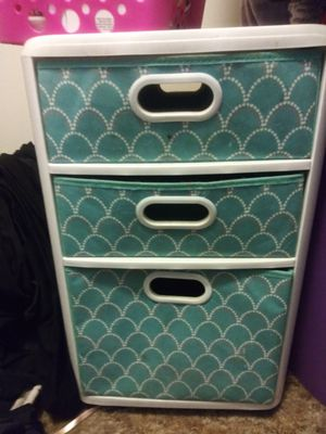 Rolling plastic drawers for Sale in Riverside, CA