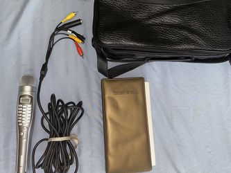 Magic Sing Microphone ED8000 Karaoke Mic, AV Cord, Tagalog 5 for Sale in South El Monte,  CA