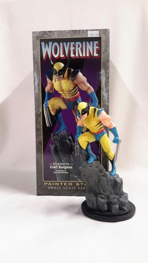 🔥MARVEL WOLVERINE SCULPTED BY CARL SURGESS (2001, BOWEN) LIMITED COMIC STATUE for Sale in Kent, WA