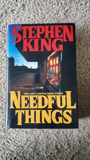 Needful Things Stephen King for Sale in Virginia Beach, VA