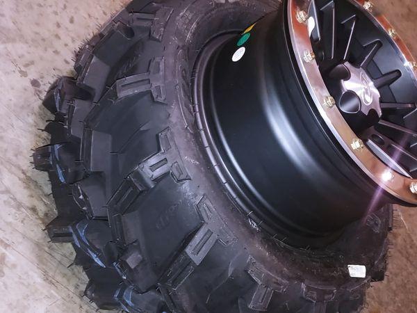 "NEW ATV - UTV OFF ROAD/SWAMP (ITP) 14"" RIMS & TIRES NEW"