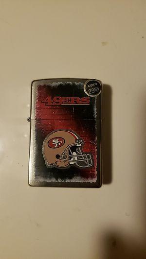 49ers zippo lighter for Sale in Dallas, TX