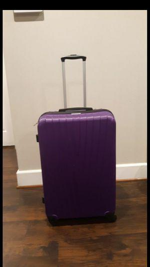"Luggage American Explorer 24"" Upright HARDSIDE Spinner Luggage CROCKETT Teal; Purple color for Sale in Fort Washington, MD"