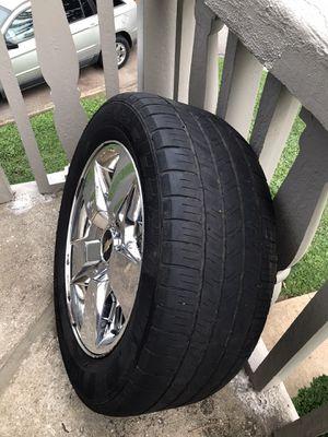 """Chevy Silverado Z71 wheel 20"""" for Sale in Marietta, GA"""