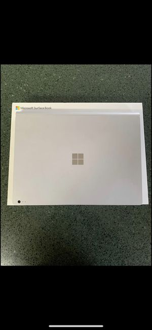Microsoft Surface Book 2 for Sale in Naperville, IL