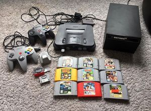 Nintendo 64 System/Games/Controllers/Accessories for Sale in Chicago, IL