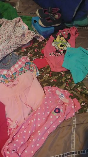 Baby girl clothes and shoes for Sale in Detroit, MI