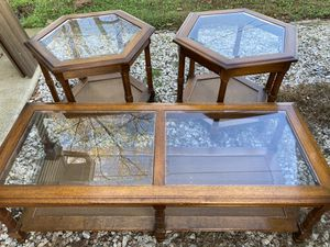 Coffee table and two side tables for Sale in Waterford, NJ