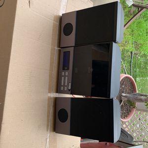 Onn Mini Stereo System Ona13av503 CD Stereo - TESTED SOUNDS GREAT for Sale in Escondido, CA