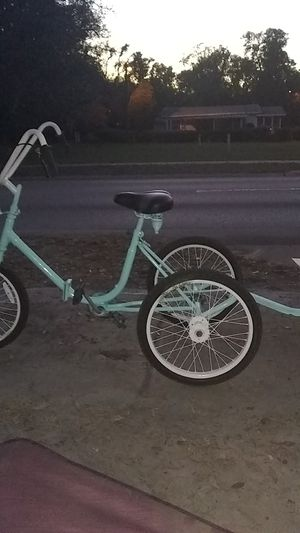 3 wheel bike with trailer for Sale in Tampa, FL