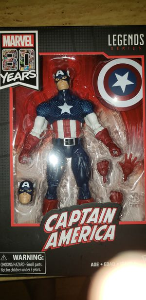 Marvel Legends 80 Years Captain America for Sale in Chicago, IL