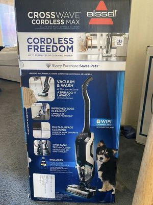 Bissell CrossWave Cordless Max All in 1 Wet Dry Vacuum Mop Hard Floors for Sale in Miami Beach, FL