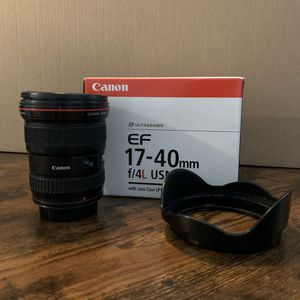 Canon 17-40mm f.4 L for Sale in Las Vegas, NV