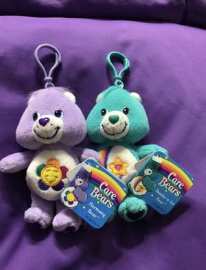 Care Bear Keychains- 2 for $ of 1 for Sale in Aventura, FL