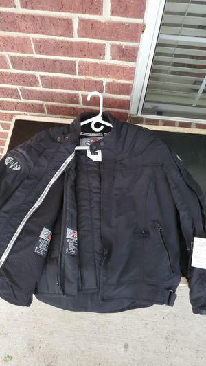 Joe rocket motorcycle jacket. Winter/summer with zip out liner for Sale in Tomball, TX