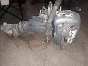 Evinrude 5.5 fisherman outboard motor good condition for Sale in Saginaw, TX