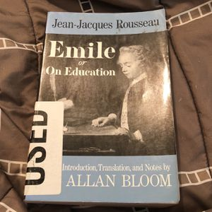 Emile or On Education By Jean-Jacques Rousseau for Sale in McDonough, GA