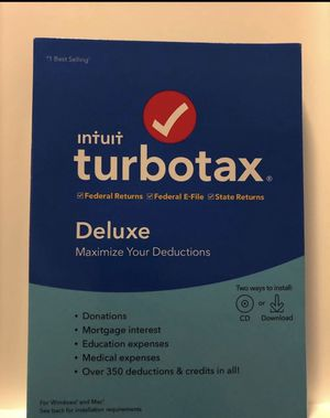 TurboTax 2019 for Sale in North Smithfield, RI