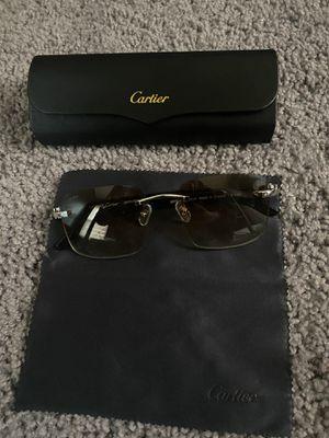 Cartier Glasses (Silver & White Buffs) for Sale in Dearborn, MI