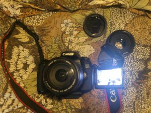 Cannon 60D DSLR CAMERA for Sale in Hartford, CT