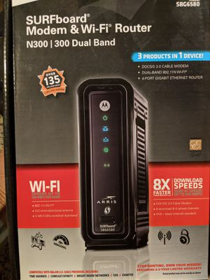Motorola modem and wifi router for Sale in San Marcos, CA