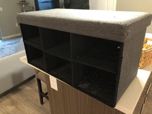 Free foot rest/storage bench for Sale in Denver, CO