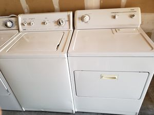 Kenmore, washer and dryer set on working condition for Sale in Renton, WA
