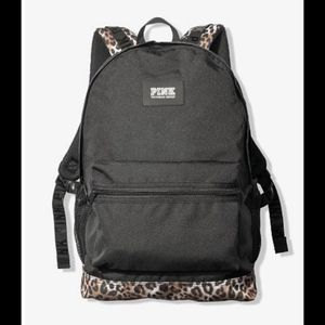 NEW VS PINK Blck Leopard Campus Backpack for Sale in Wyoming, MI