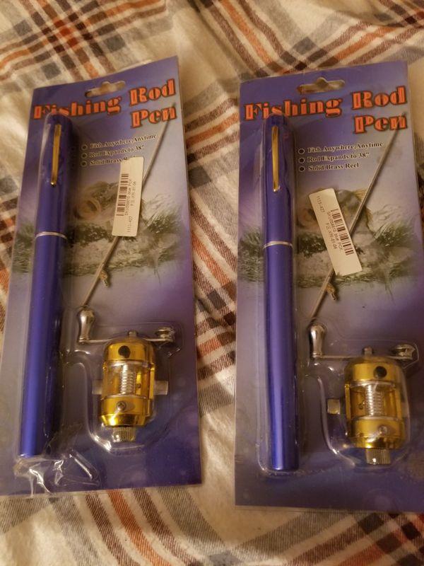 Fishing Pole Pens
