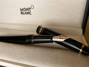 Montblanc Meisterstuck Fountain Pen w/ 14k Nib 4810 In Original Box. Condition is New for Sale in Alexandria, VA