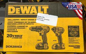 DeWalt drill impact kit new for Sale in McClure, IL