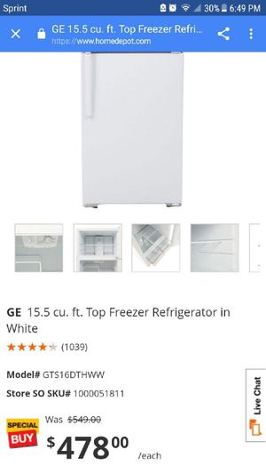Refrigerator for Sale in San Francisco, CA