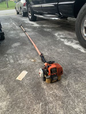 Echo pole saw works but needs a new head for Sale in Port St. Lucie, FL