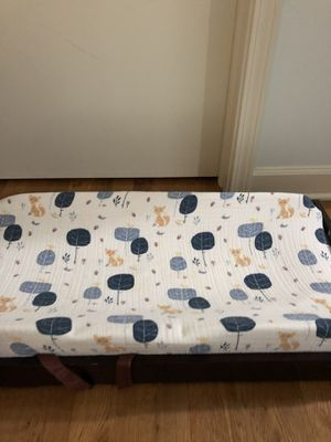 Potterybarn diaper changer with extra cover!! for Sale in Chicago, IL
