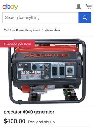 Generator 3200/4000 watts for Sale in Reynoldsburg, OH
