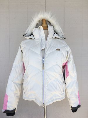 Woman's White DC Snow Jacket for Sale in Pismo Beach, CA